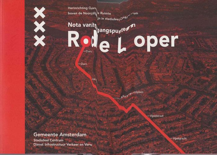 Post image for Rode loper: nota van uitgangspunten