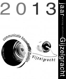 Jaarverslag 2013 Gijzelgracht cover